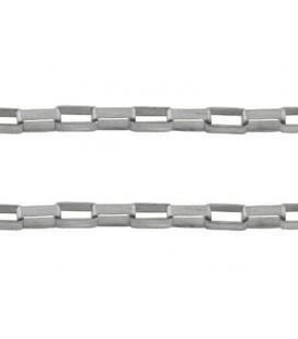 Łańcuch metalowy 2x5mm - 1m