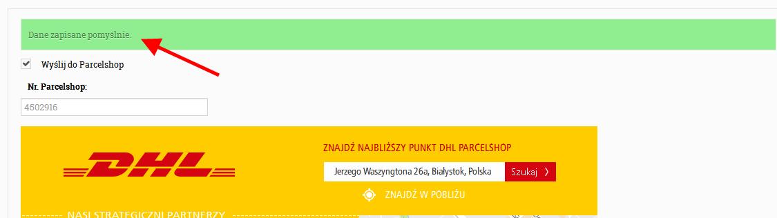 Kurier DHL - MBbeads.pl