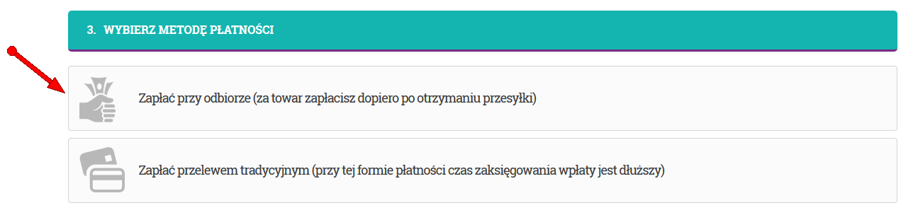 Sposoby płatności - MBbeads.pl