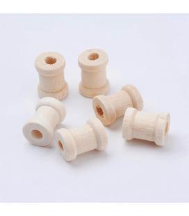 Drewniany koralik 13x17mm - 5szt
