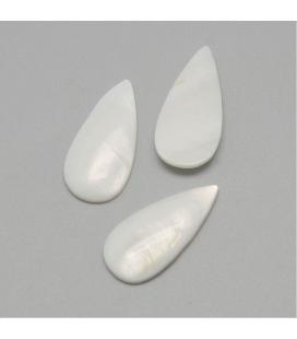 Kaboszon z masy perłowej - 1szt