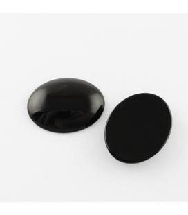 Kaboszon szklany 18x25mm - 2szt