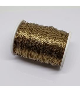 Nić metalizowana do haftu 0,5mm - 125m