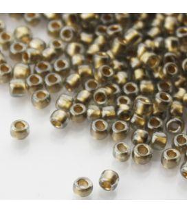 TOHO Round 6/0 Gold Lined Black Diamond - 30g