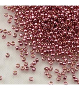 TOHO Round 11/0 Permanent Finish Galvanized Pink Lilac - 10g