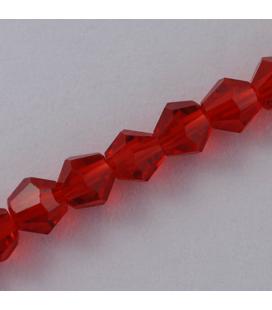 Kryształki bicone fasetowane 3mm - ok. 140szt