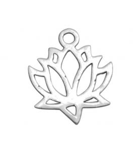 Zawieszka ze stali szlachetnej - kwiat lotosu -1szt