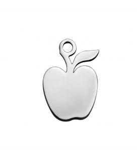 Zawieszka ze stali szlachetnej - jabłko -1szt