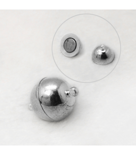 Zapięcie ozdobne magnetyczne 10mm - 3szt