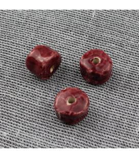 Koraliki kostki  12x16mm - 3szt