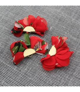 Ozdobny kwiatek 35x23mm - 1szt