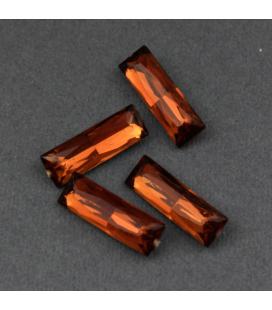 Kaboszon akrylowy fasetowany KRYSZTAŁEK 21x7x5mm - 4szt