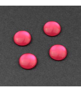 Kaboszon akrylowy Elektryczny Róż 10mm - 4szt