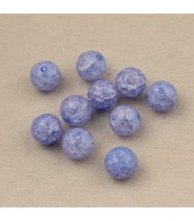 Kwarc syntetyczny crackle 10mm - 10szt