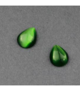 Kaboszon szklany kocie oko - 2szt