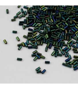 TOHO Bugle 3mm Metallic Iris Green/Brown - 10g