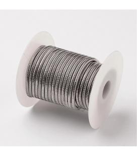 """Łańcuch stalowy """"żmijka"""" 3,1mm - 0,2m"""