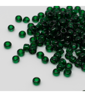 TOHO Round 6/0 Transparent Green Emerald - 30g