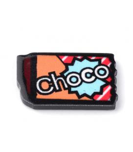 Kaboszon akrylowy CHOCO-LADA 18x11x2mm - 4szt