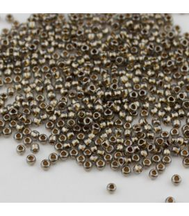 TOHO Round 11/0 Gold Lined Black Diamond - 30g