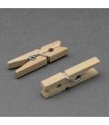 Spinacze drewniane 35mm - 10szt