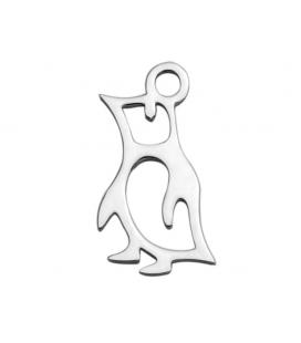 Zawieszka ze stali szlachetnej - pingwin -1 szt