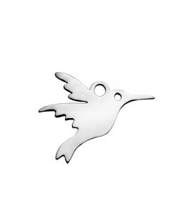 Zawieszka ze stali szlachetnej - ptak