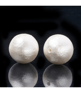Perełka bawełniana 10 mm - 1szt