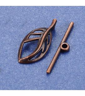 Zapięcie typu toggle LIŚĆ 25 mm - 1 szt
