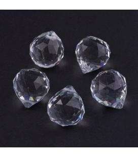 Kryształek fasetowany łezka/kula 1 szt