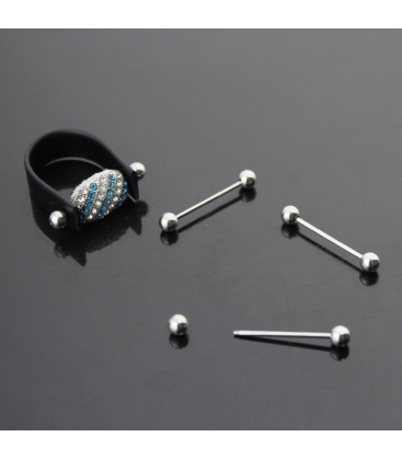 Baza do pierścionka silikonowa 1szt