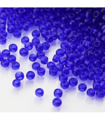TOHO Round 8/0 Transparent Cobalt