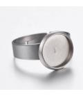 Baza do pierścionka ze stali szlachetnej - 1szt