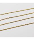 Łańcuszek ze stali szlachetnej 1 mm - 0,5 m