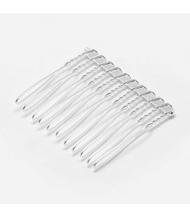 Grzebień z metalu 35 x40 mm - 3 szt.