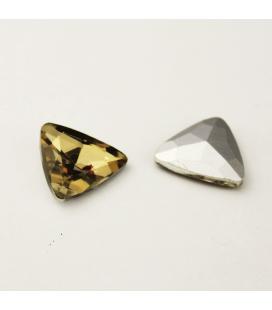 Cyrkonia kryształek, trójkąt 25 mm - 1 szt.