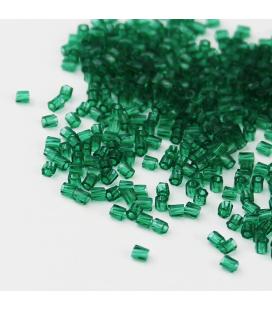 Miyuki Twist Hex Cuts 10/0 - Transparent Emerald - 10 g