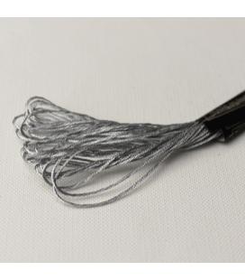 Mulina metalizowana - Silver - 7m