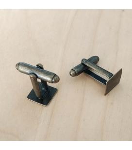 Spinki do mankietów 10mm - 2szt