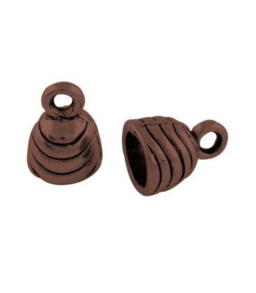 Wklejka ozdobna dzwonek 6,5mm - 10szt