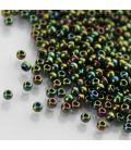TOHO Round 11/0 Higher-Metallic Iris Olivine