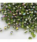 Beads Fire Polish 4 mm Vitral Olivine