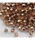 Beads Fire Polish 4 mm Apollo (Gold)