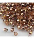 Beads Fire Polish 4 mm Apollo (Gold)