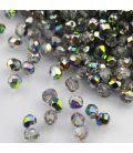 Beads Fire Polish 4 mm Crystal/Vitral