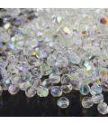Beads Fire Polish 4 mm Crystal AB