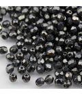 Beads Fire Polish 4 mm Hematite