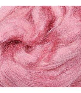 Jedwab do filcowania KNORR prandle Tussah-silk różowy - 10g