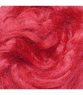 Jedwab do filcowania KNORR prandle Tussah-silk czerwony - 10g