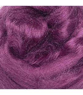 Jedwab do filcowania KNORR prandle Tussah-silk fioletowy - 10g